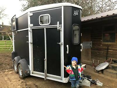 2015 IFOR Williams HB511 511 Black Double Horse Box Trailer • 5,100£