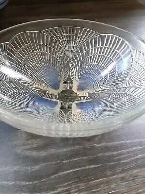 Genuine Rene Lalique Coquilles Opalescent Bowl No 3203 Lovely Condition. • 425£