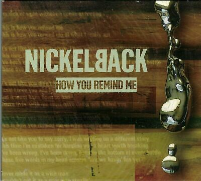 Nickelback - How You Remind Me CD Single • 0.99£