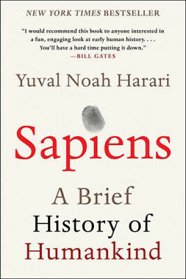 AU44.98 • Buy Sapiens: A Brief History Of Humankind By Harari, Yuval Noah
