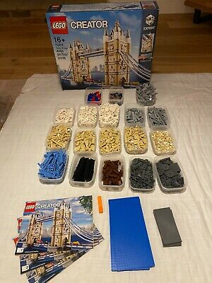 Lego Tower Bridge Set 10214 Retired 100% Complete • 225£