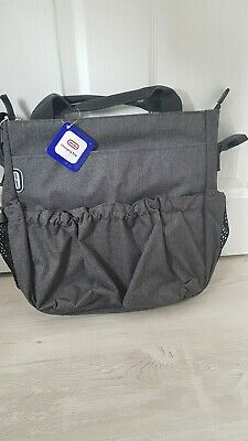 Grey Baby Diaper Nappy Changing Bag Fits Bugaboo, Stokke, Icandy ! 0 • 15.99£
