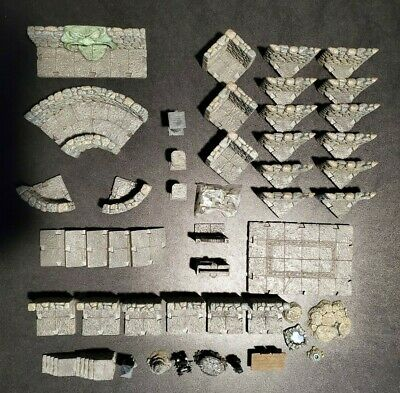 $ CDN151.91 • Buy Dwarven Forge Dungeon Terrain Lot - D&D Pathfinder Terrain Scenery