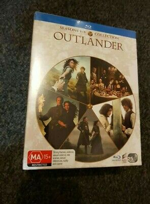 AU60 • Buy Outlander Seasons 1-5 Box Set Blu-ray Region B