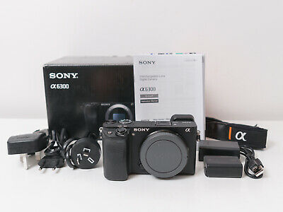 AU900 • Buy Sony A6300 4K Digital Camera Body Only ~1k Shot Count & Excellent ~$850 Use Code