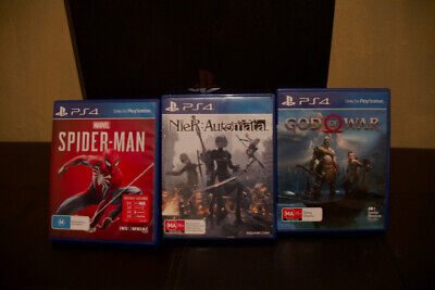 AU370 • Buy Sony PS4 Pro - 2 Controllers/3 Games/Stand: Excellent Condition