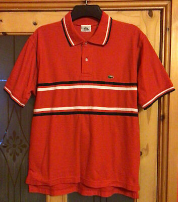 Lacoste, Mens Size M, Red Polo Shirt, New Without Tags • 10£