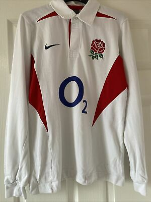 Vintage England Rugby Union Shirt - Size Small 36/38    Nike  • 7.50£