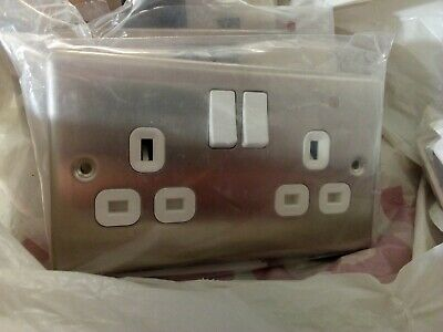 Lap 13 Amp Double Switched Socket Outlets X  3 & Other Items • 10£