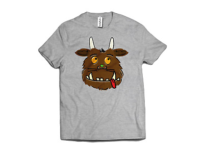 £9.99 • Buy Monster Face T-Shirt World Book Day Comic TV Show Book Cotton Chesnut Brown