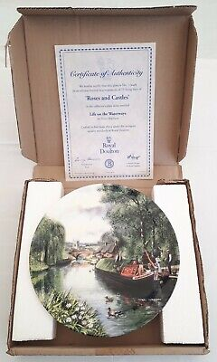 £9.99 • Buy Royal Doulton Plate ROSES AND CASTLES Life On The Watereays Terry Harrison China