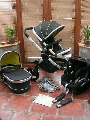 ICANDY PEACH Jogger All Terrain Travel System TOUCAN BLACK Free Uk Post  • 419.99£