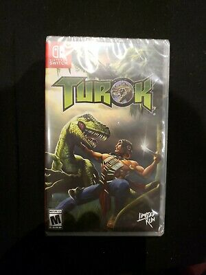 $ CDN49.60 • Buy Turok Switch - Limited Run Games - New And Sealed