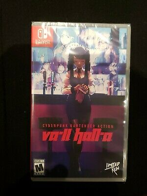$ CDN44.29 • Buy VA-11 Hall-A Switch - Limited Run Games - New And Sealed
