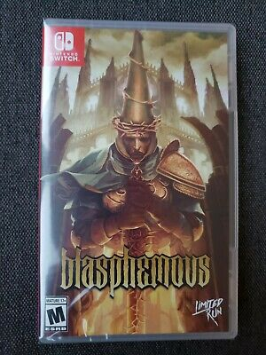 $ CDN104.52 • Buy Blasphemous Switch - Limited Run Games - New And Sealed