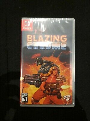 $ CDN51.55 • Buy Blazing Chrome Switch - Limited Run Games - New And Sealed
