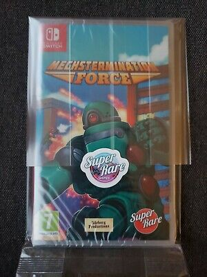 $ CDN67.32 • Buy Mechstermination Force Switch - Super Rare Games - New And Sealed