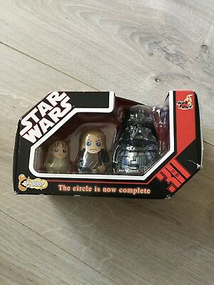 $ CDN12.44 • Buy Hot Toys Star Wars Darth Vader Chubby Anakin Skywalker Nesting Dolls Figurines