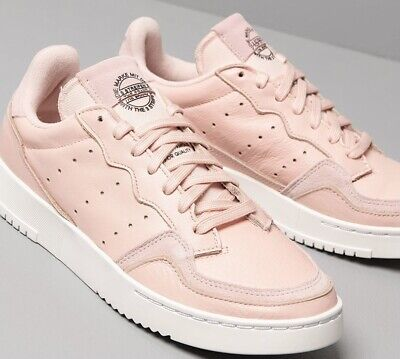 AU88.51 • Buy Adidas Originals Supercourt Women's Sneakers Shoes Size 9.5 Pink/white EE6044