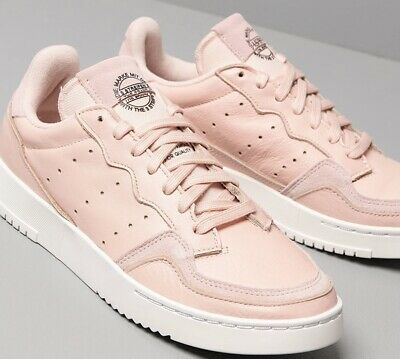 AU88.51 • Buy Adidas Originals Supercourt Women's Sneakers Shoes Size 6.5 Pink/white EE6044