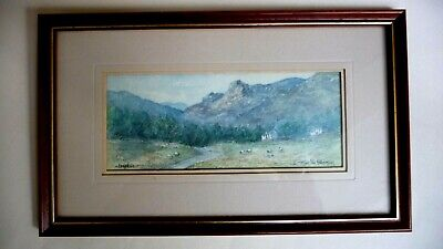 Langdale Lake District COLIN WILLIAMSON Small Framed Print 290mm X 173mm • 5.99£