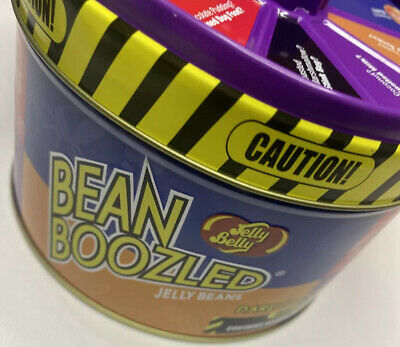 Jelly Belly Beans Boozled With Tin Can Spinner Wheel Game Weird & Wild Flavors ! • 14.30£
