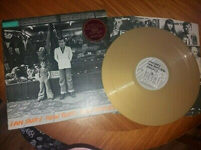 Ian Dury And The Blockheads - LP New Boots And Panties Orig UK 1977  Gold Vinyl • 29.99£