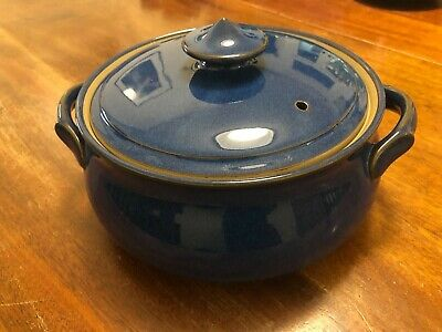 Denby Imperial Blue Lidded Tureen/Casserole Dish - Made In England REDUCED! • 20£