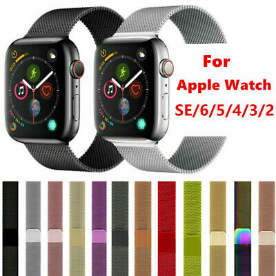 AU12.99 • Buy Milanese Loop Strap Watch Band For Apple Watch SE 1/2/3/4/5/6 38/40/42/44MM