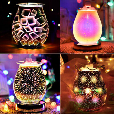 £14.99 • Buy Aroma Electric Wax Melt Burner Touch Lamp Switch Oil Diffuser Warmer Night Light