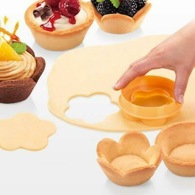 Cake Cup Stamper Donut Rice Ball Moulds Fondant Cake Cookie Mold Flower Stamper • 2.74£