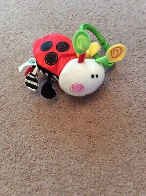 Elc Ladybird Pram Toy. Tactile / Used In Role Play. Good Used Condition. • 1£