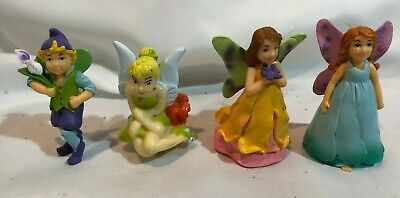 2 ELC Plastic Toy Angel, Fairy, + 2 Other  Pixie Figures - Small Size • 4£