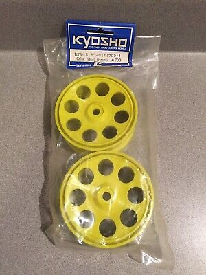 Vintage Kyosho 1/8 Scale Nitro Buggy Wheels Kyosho Inferno Burns BSW-8 • 18.09£