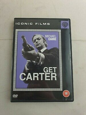 Get Carter - Michael Caine - 18 - DVD - Tested/Working - Free P&P - VGC • 5.97£