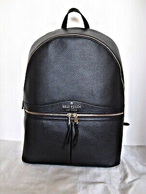 $ CDN187.35 • Buy KATE SPADE  - Karina Large Leather Backpack - Black