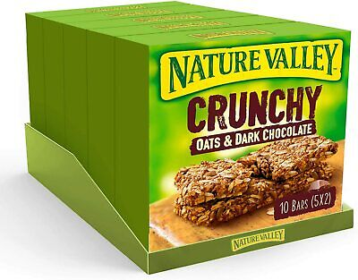 £18.42 • Buy Nature Valley Oat & Chocolate Cereal Bars - 10 Bars Pack Of 5, Total 50 Bars