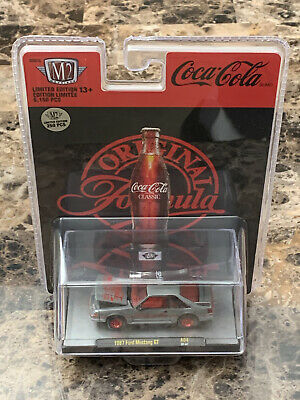 $165 • Buy M2 Machines Coca Cola 1987 Ford Mustang GT Raw