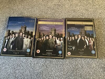 Downtown Abbey Series 1-3 DVDs • 5£