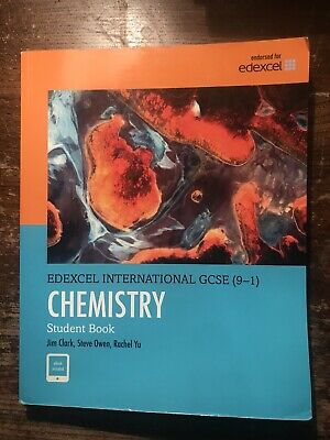 Edexcel IGCSE Grade 9-1 Chemistry Student Book Pearson Bought For £30 • 13£