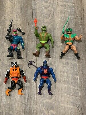 $27.99 • Buy Vintage He-man MOTU Lot Masters Of The Universe Original Accessories Trap-Jaw