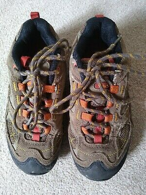 Boys Walking Hiking Shoes Sturdy Real Suede Peter Storm Size 2  • 2.50£
