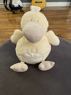 Mamas And & Papas Dotty Duck Soft Toy Plush Cuddly Baby Teddy • 3.50£