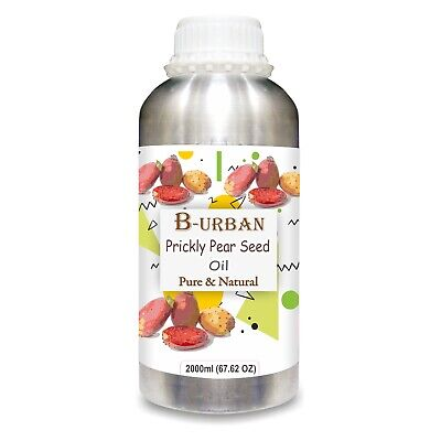 Prickly Pear Seed (Opuntia Ficus-Indica) Oil 1000ml/33.8 Fl Oz Express Shipping • 37.23£