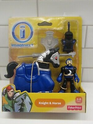 Fisher Price Imaginext Castle Friends Knight & Horse W/weapons New Sealed Pkg • 15.73£