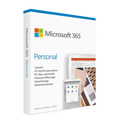 AU121.99 • Buy Microsoft Office 365 Personal 1 License(s) 1 Year(s)