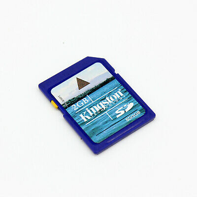 AU10.33 • Buy Kingston 2GB SD Card, Secure Digital Card 2 GB For Old Camera/Recorder/GPS