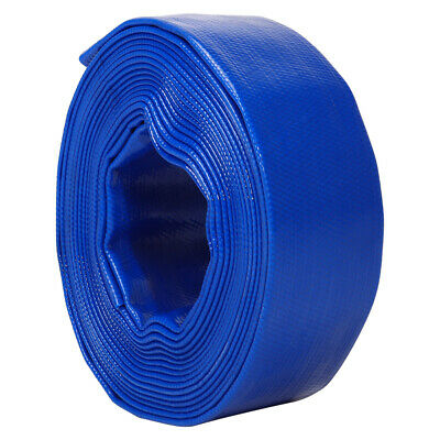 £31.99 • Buy Layflat PVC Water Delivery Hose - Discharge Pipe Pump Lay Flat Irrigation 5 Bar