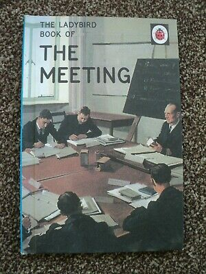 Ladybird Book For Adults The Meeting • 1£
