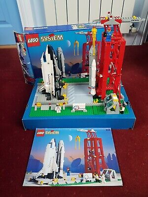 Lego System Space Shuttle And Launch Pad . Used. Rare Vintage. • 37£